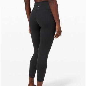 Black Lululemon Wunder Under High Rise leggings